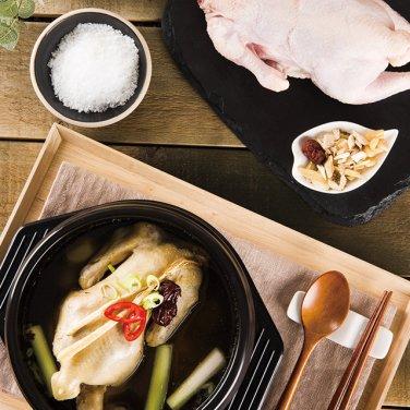 화산 한방 삼계탕세트(닭 2수+한방백숙재료)