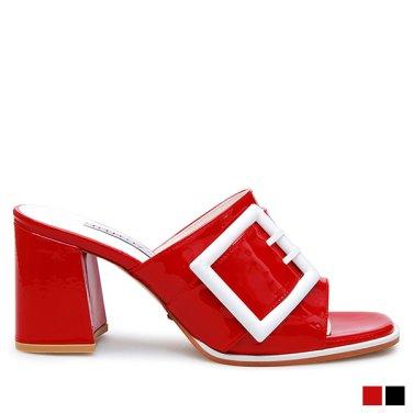 L613098 키튼힐 샌들 Hot red(6cm)