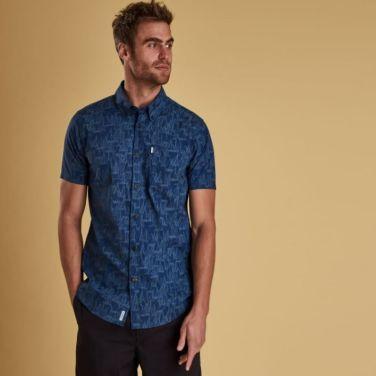 Boat S/S Shirt 보트 셔츠 블루(BAI1MSH4430BL53)