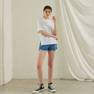 Ode Side T-Shirt _ White