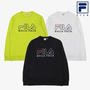 (공용) FILA 3D 로고 자수 스웨트 셔츠3종 택1(FS2POA30)(FS2POA30_3SKU) (FS2POA3006_3SKU)