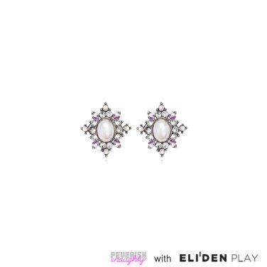 [피버리쉬앤너티] ROYALMATIC STAR EARRINGS-SILVER (RM2E6)