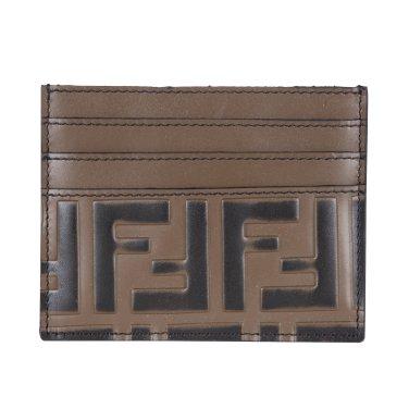 펜디 FF로고 카드 지갑 7M0164 A42P 브라운