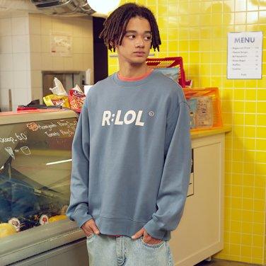[RLOL] (TS-19701) RLOL BASIC SWEATSHIRT BLUE