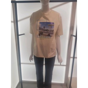 타이트 반팔 티셔츠 (N201YWT206)