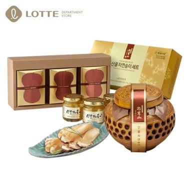 [대솔] 자연산 송이꿀 산산배양근 선물세트 모음전/고급도자기