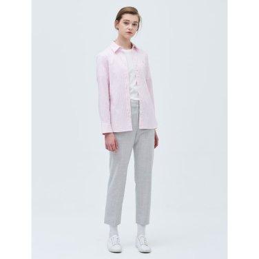 핑크 베이직 스트라이프 셔츠 (BF9264C01X_)