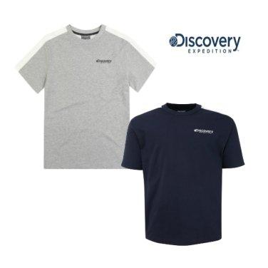 공용 빅로고 포인 라운드 티셔츠 DXRT6U931