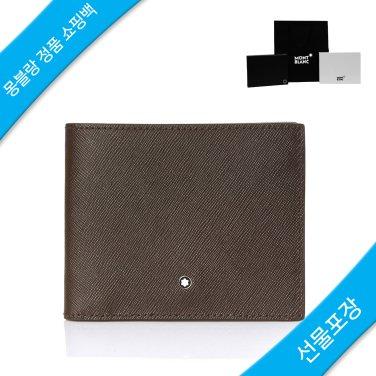 남성 반지갑 113216 TOBACCO / 몽블랑 정품 쇼핑백