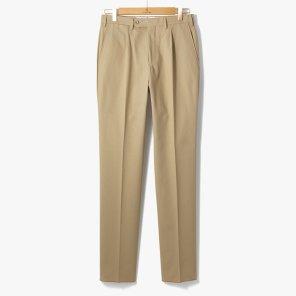 [TBRM]CLASSIC COTTON PANTS BEIGE/TB92M30002A24