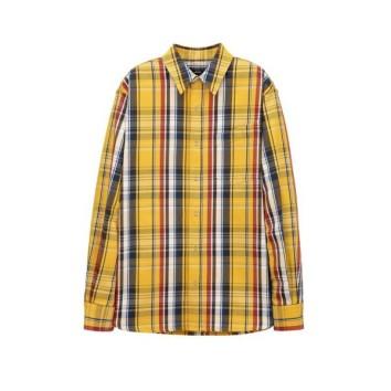 옐로우 멀티컬러체크 오버 셔츠 (ARSH0A104Y2)
