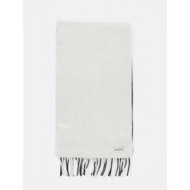 컬러 블록 우븐 머플러 - Ivory (BE9X84M020)