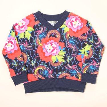 Z196AGW311-JAPANESE FLOWER 티셔츠