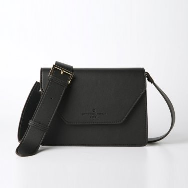 clover cross bag (black) - D1006BK