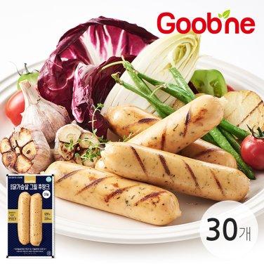 굽네 닭가슴살 그릴후랑크 마늘 120g 30팩_JB84