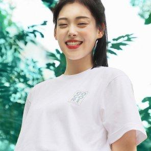 GOCORI mini logo T-shirt