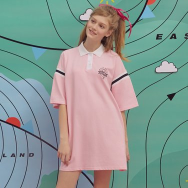 (OP-19318) REPORTING COLLAR ONE-PIECE PINK