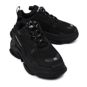 19FW 블랙 트리플S 스니커즈 524036 W09O1 1000