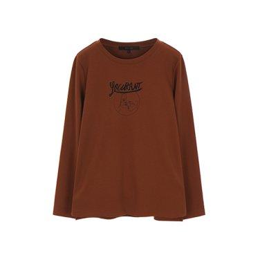 베이직 드로잉 티셔츠(NW9WE718)