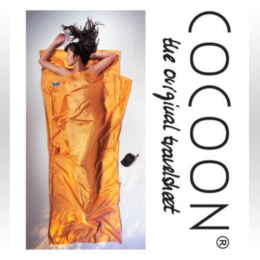 [COCOON] 코쿤 여행용 초경량 실크 라이너 선셋 (ST71)
