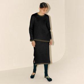 Cotee Arch Skirt_Black (JC19WTSK05BK)