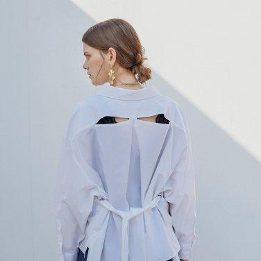 [장도연 착용] 피카부 셔츠 (OBFSH002AWHL)