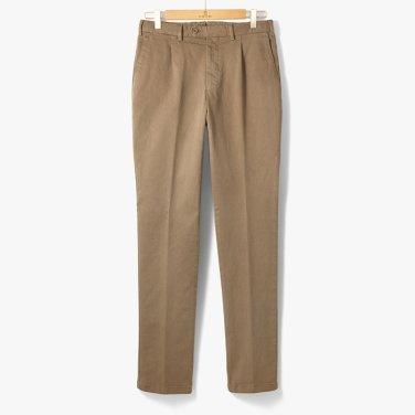 [TBRM]CLASSIC COTTON PANTS (WASHED) KHAKI/TB92M30003A23