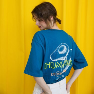 Avocado Humming Tshirts Blue(2018SSTS320_01)