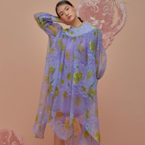 Organza Tunic Dress