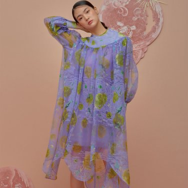 Organza Tunic Dress
