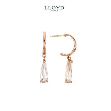 물방울 큐빅 드롭 귀걸이(LPSJ1005G)