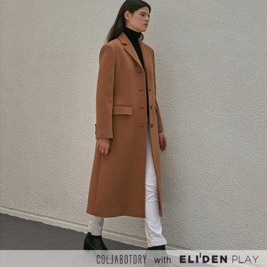 [콜라보토리] 노치드 슬림 싱글 코트(2color) (BBCMA3001M)