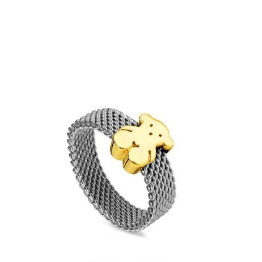 [TOUS] Gold Mesh Ring/915900740