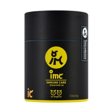 [갤럭시펫] IMC 아이엠씨 이뮨케어 면역력 영양제 30포