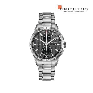 H43516131 브로드웨이 오토크로노 블랙 메탈 남성 시계