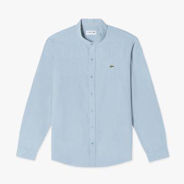 (남성) 코튼 린넨 헨리넥 셔츠 CH720E-19B_S6T_KR217