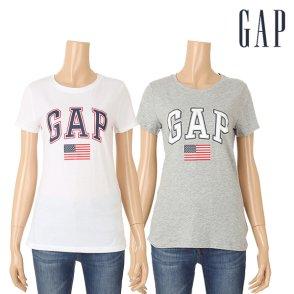 여성 성조기 로고 반팔 티셔츠 5129126009001외1종(5129126009081)
