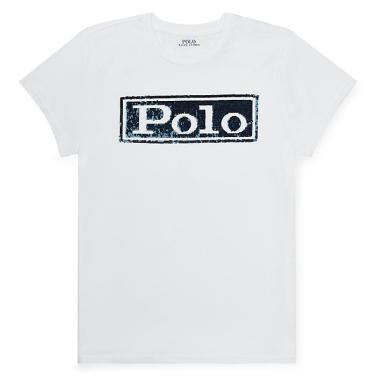 폴로 랄프 로렌 로고 코튼 크루넥 티셔츠(WMPOKNINN810226E86)