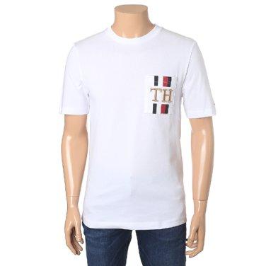 아이콘 TH포켓 릴렉스 핏 반팔 티셔츠 TMMT1KOE63A0