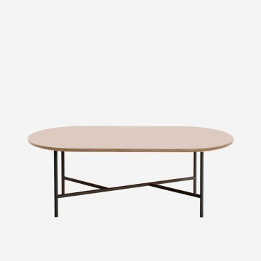 Lino wide cross low table (H340/420)
