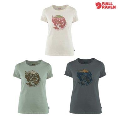 우먼 아틱 폭스 프린트 반팔 티셔츠 Arctic Fox Print T-Shirt W -F192WHL09CT