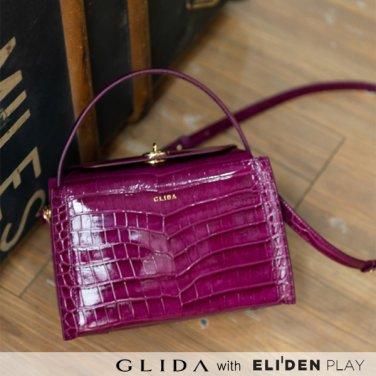 [그리다] GLIDA OPENING Bag (S) - Wine (GOCWI-01)
