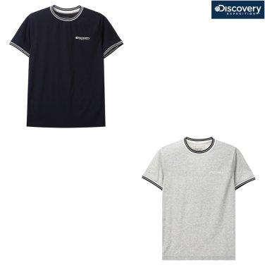 공용 립변형 라운드 티셔츠 DXRT97831