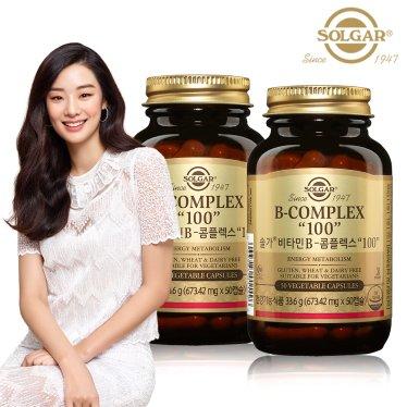 비타민B 콤플렉스 100 (50캡슐) x 2병