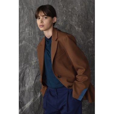 [아바몰리] Tessa Single Jacket_CAMEL