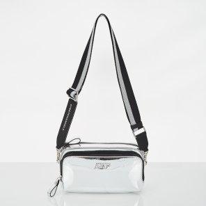 (SUMR02911X-SI) PANINI METAL LOGO SOLID BAG