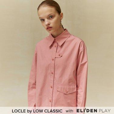 [로우클래식] 19 FALL LOCLE Stitch point shirt_pink (Z3LCI6ST102)