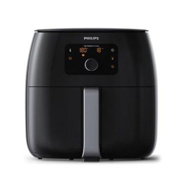 트윈터보스타 특대형 에어프라이어 HD-9650 [1.4KG / 기름 흡수 판 ]