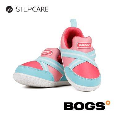 [보그스] 밴드-핑크 아동 운동화 키즈운동화