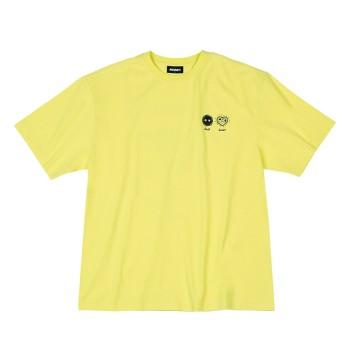 남녀공용 Dust Heart 1/2 Sleeve T-shirt_PNEU20KT0937